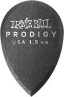 Plektre, Ernie Ball EB-9330 Prodigy Picks, Black Prodigy Picks. 1.5mm Teardr