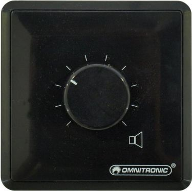 Omnitronic PA Volume Controller 30W stereo bk