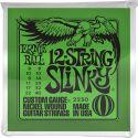 Elguitar, Ernie Ball EB-2230, 12-string Slinky 8-40