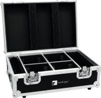 Roadinger Flightcase 4x AKKU TL-3 Trusslight QuickDMX with charging function