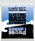 Bas Strenge, Ernie Ball EB-2802, Flatwound Firm 55-110