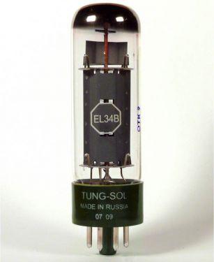 Electro Harmonix TUNGSOL EL34B, Tungsol EL34B vacuum tube