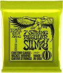 Elguitar, Ernie Ball EB-2621, 7-string Regular Slinky 10-56