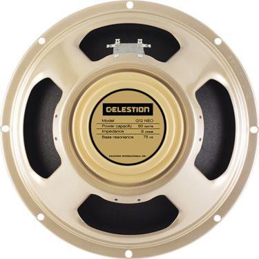 "Celestion G12 Neo Creamback T5977 8R, 12"", 8 Ohm. With a 90-watt po"