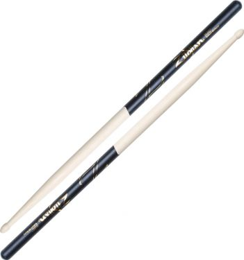 Zildjian 5A Black Dip Hickory - Wood Tip, One of the most popular m