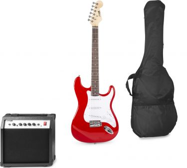 El-Guitar *Gig-Kit* - Rød