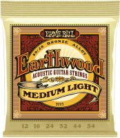 Ernie Ball EB-2003, Earthwood Bronze Medium Light 12-54