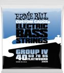 Bas Strenge, Ernie Ball EB-2808, Flatwound Flex 40-95