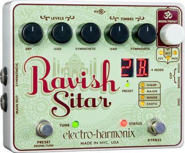Electro Harmonix RAVISH, Få instrumenter har en sådan distinkt lyd