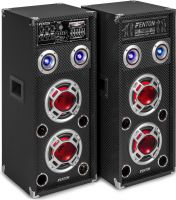 "KA-26 Active Speaker Set 2x 6.5"" USB/RGB LED 800W"