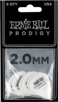Plektre, Ernie Ball EB-9202 PRODIGY-PICK-WH-1s,6PK, High Performance Guitar