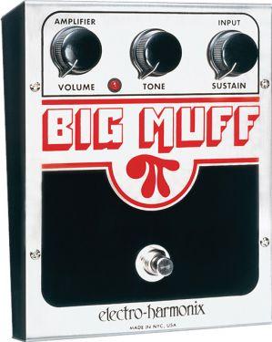 Electro Harmonix USA BIG MUFF PI, . Amerikansk model
