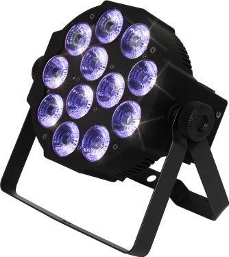 Scandlight slimPAR 1210 RGBWAP, 12x10W RGBWAP slimpar spotlight
