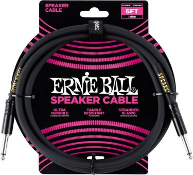 Ernie Ball EB-6072 Speaker Cable, 1,8M