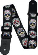 Straps, Profile TMS022 Poly Strap Mexican Skull