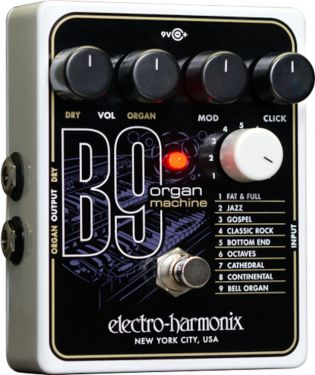 Electro Harmonix B9 Organ Machine, . Til guitar