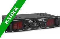 "SPL 1000BT Amplifier Red LED+EQ Black ""B-STOCK"""