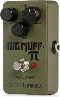Electro Harmonix EHX Green Russian Big Muff, Reissue of the praised