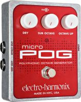 Electro Harmonix Micro POG, Micro POG er en polyfonisk oktavpedal m