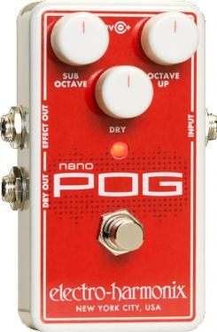 Electro Harmonix Nano POG, The smallest member of the polyphonic PO
