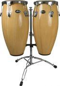 Percussion, Mano Percussion MP1601F-NA Conga Set, Conga-sæt i glasfiber. Natur