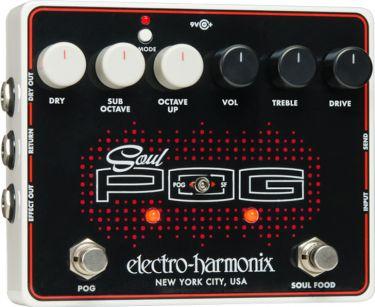 Electro Harmonix EHX Soul POG, Multi-effect pedal that combines the