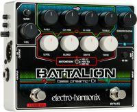 Electro Harmonix Battalion Bass-Preamp, Compact and flexible bass p