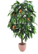 Europalms Mango tree with fruits, artificial plant, 165cm