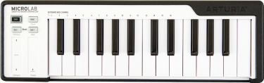 ARTURIA MICROLAB-BLACK USB Controller keyboard.