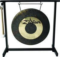 "Zildjian Traditional Gong & Table Top Stand Set, 12"" bordgong med s"