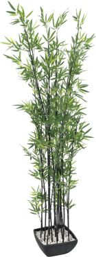 Europalms Bamboo in bowl, artificial, 180cm