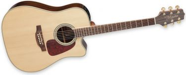 Takamine GD71CE-NAT, Dreadnought with solid top and upgraded electr