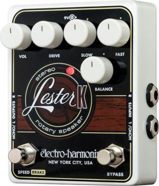 Electro Harmonix EHX Lester K Keyboard Leslie, Rotary speaker simul