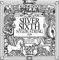 Ernie Ball EB-1536, Single E6 (6th) Ernesto Palla Silver Wound stri