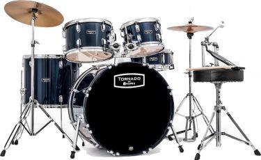 Mapex Tornado Fusion 5-pc drumset - Blue