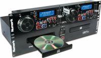 """Numark CDN-77USB, 19"""" dubbel-CD/MP3 med USB-portar"""