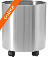 "Europalms STEELECHT-35, stainless steel pot, Ø35cm ""C-STOCK"""