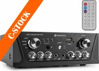 "Karaoke Amplifier FM/USB/SD/Rem Black ""C-STOCK"""