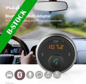 Nedis Bluetooth® Multi-Adapter | Hands-Free Calling | FM | Up to 5.5 Hours Playtime | Voice Control,