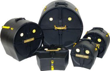 Hardcase Rock Fusion 3 Drum Case Kit, Sæt med 14S, 10T, 12T, 16FT &
