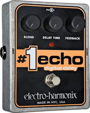 """Electro Harmonix NO.1 ECHO, """"Digital delay med analog tone"""