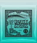 Sortiment, Ernie Ball EB-2326 Ukulele Sopran/Concert, Black, Ukulele Strings w
