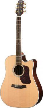 Walden D600CEW Electric-Acoustic Guitar, NATURA 600 Dreadnought, 6