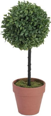 Europalms Grass ball tree, artificial, PE, 39cm