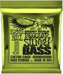 Bass Strings, Ernie Ball 2852 Short Scale Regular-Slinky
