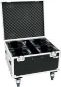 Product Cases, Roadinger Flightcase 4x TMH FE-600 with wheels