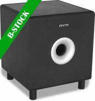 "SHFS08B Active subwoofer 8"" black ""B-STOCK"""