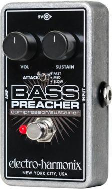 Electro Harmonix EHX Bass Preacher, Bass Compressor/Sustainer with