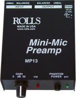 Rolls MP13, Forforstærker til mikrofon