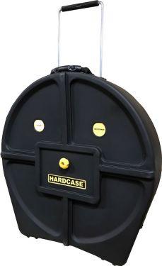 """Hardcase 24"""" Cymbal Case, Cymbalkasser. Cymbalcase med hjul. Plads"""